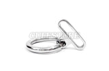Removable Ring for KB-896 Collars, Handcuffs and Leg Irons
