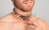 Heavy Giant Watch Band Slave Collar Neck Restraint KB-906-G