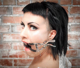 Whitehead Jennings Ratchet Leather Mouth Gag Double Strap