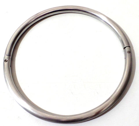 Lightweight Locking Aluminum Satin Eternity Collar