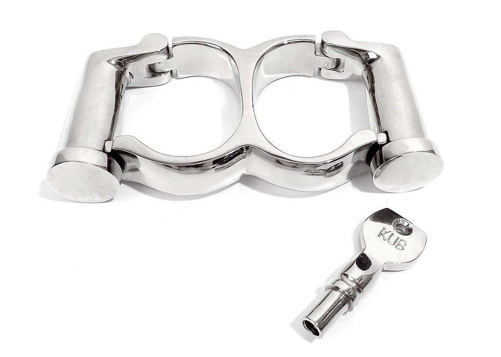 Darby Irish 8 Double Cylinder Handcuffs KB-120