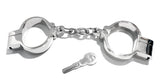Chain-Link Hamburg-8 Snap Shut Handcuffs KUB-128