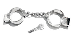 Chain-Link Hamburg-8 Snap Shut Handcuffs KB-128