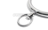 Locking Single Ring Bondage Collar with Allen Drive Key KB-903