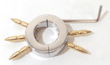 Locking Spiked Ball Stretcher Weight with Allen Key Closure CBT