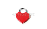 Large Heart Padlock with Two Keys