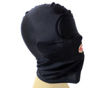 Spandex Hood With Built on Padded Blindfold