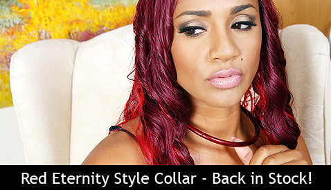 Red Eternity Style Collar Back in Limited Stock!