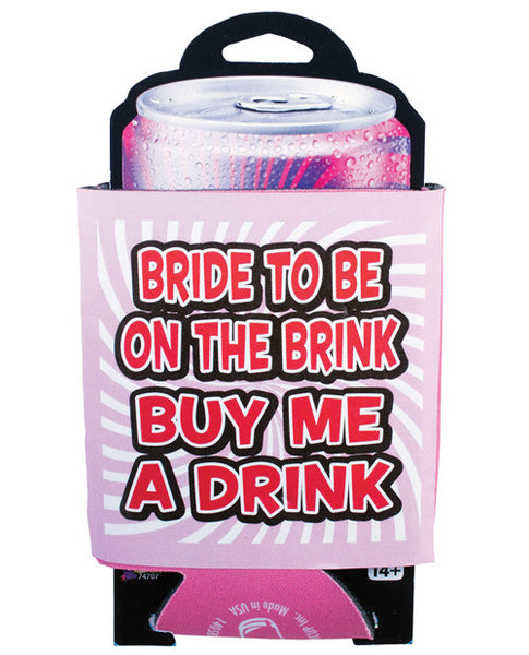Bachelorette Bride To Be On The Brink Drink Coy, Fun & Games
