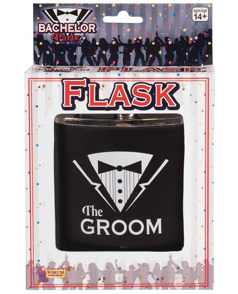 Bachelor Party Groom Flask, Fun & Games