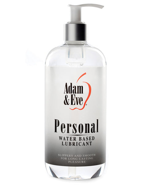 Adam & Eve Personal Water Based Lube - 16 Oz, Essentials