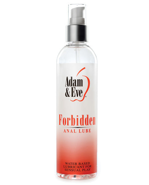 Adam & Eve Forbidden Anal Water Based Lube - 8oz, Essentials