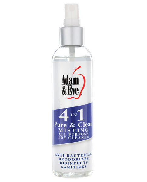 Adam & Eve 4 In 1 Pure & Clean Misting Cleaner - 4oz, Essentials