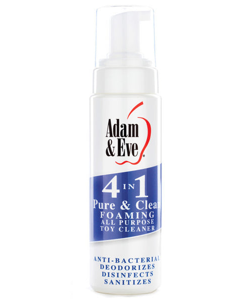 Adam & Eve 4 In 1 Pure & Clean Misting Cleaner - 8oz, Essentials