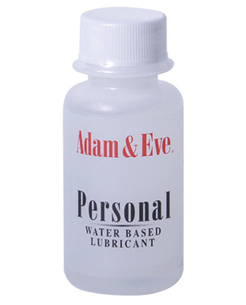 Adam & Eve Personal Water Based Lube - 1o, Essentials
