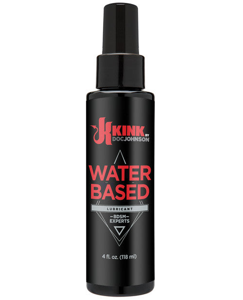 Kink Lubricants Water Based Lubricant - 4 Oz, Essentials