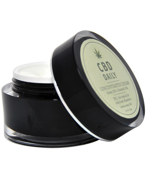 Earthly Body Cbd Daily Concentrated Cream - 1.7 Oz, Essentials