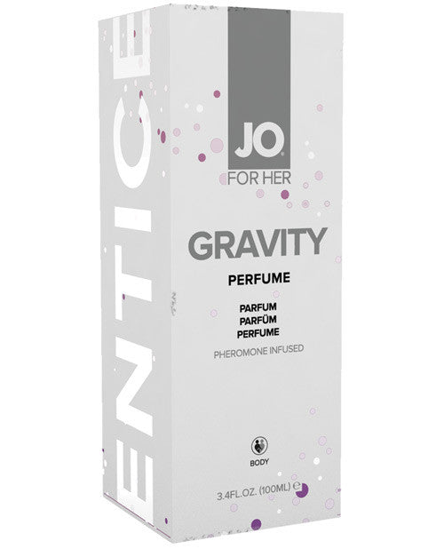 System Jo Gravity Pheromone Infused Cologne For Her - 3.4 Oz, Essentials