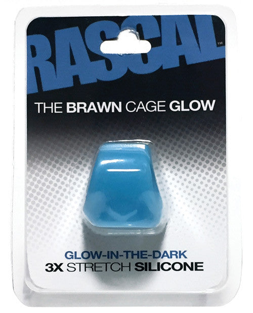 Rascal Toys The Brawn Cage - Glow Blue
