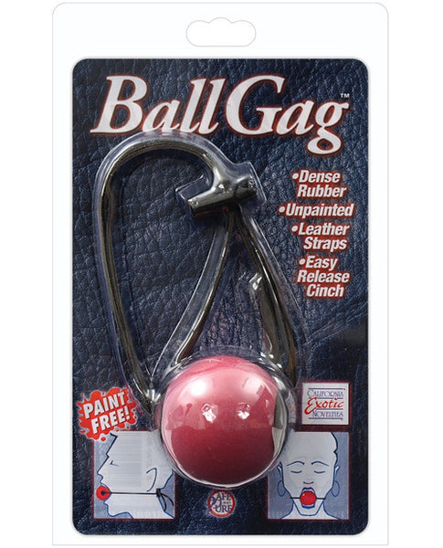 Ball Gag - Red, Bondage