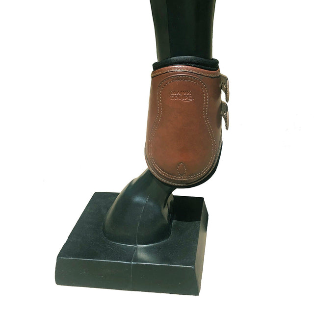 All Leather Hind Jump Boot with Removable Impact Protection Liner