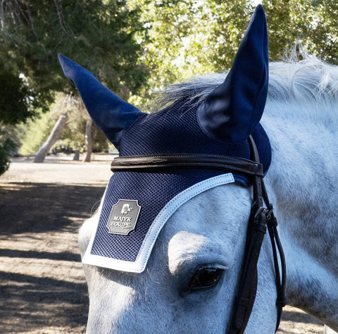 'Finishing Touch' Luxury Air Mesh Ear Bonnet - Majyk Equipe
