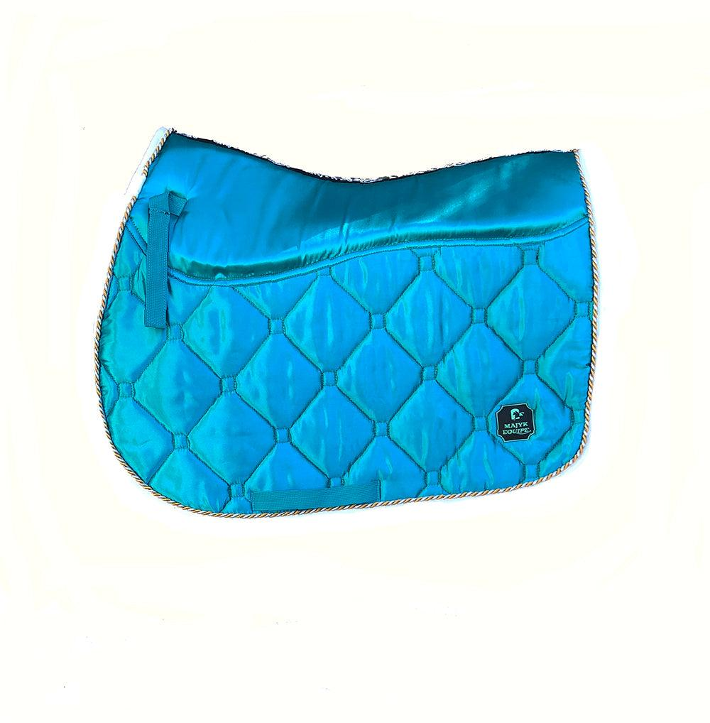 Majyk Equipe Luxury Satin All Purpose Saddle Pad - Majyk Equipe