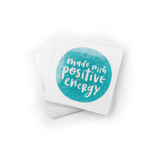 Made With Positive Energy Temporary Tattoos - $1 (4-pack)