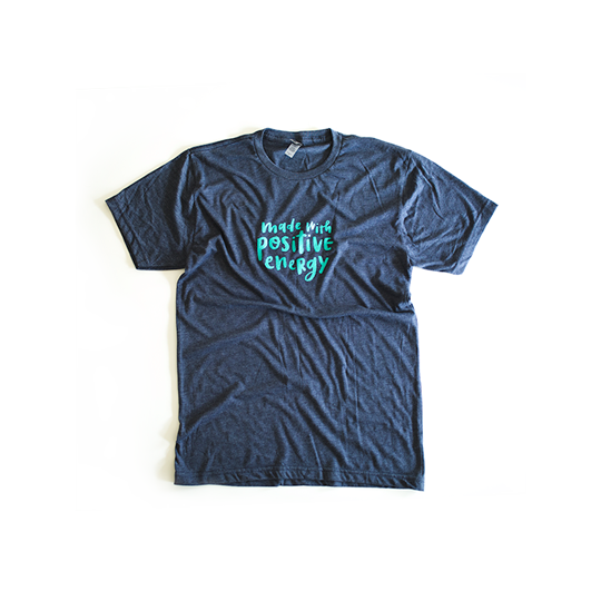 Youth Made With Positive Energy Tee - $20