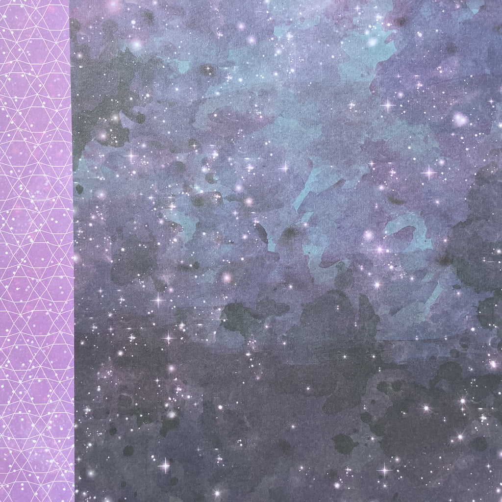 DCWV 'Starlight' #7 double sided patterned paper