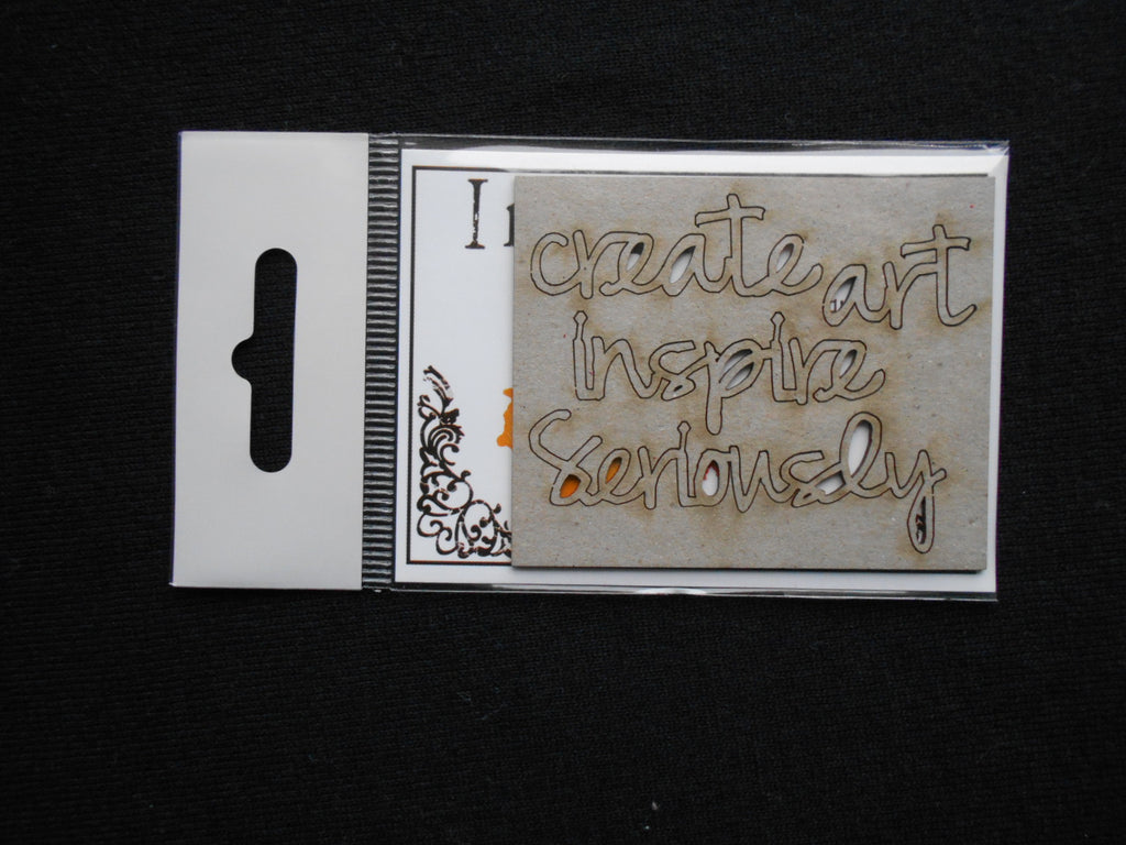 Imaginarium 'create' chipboard words