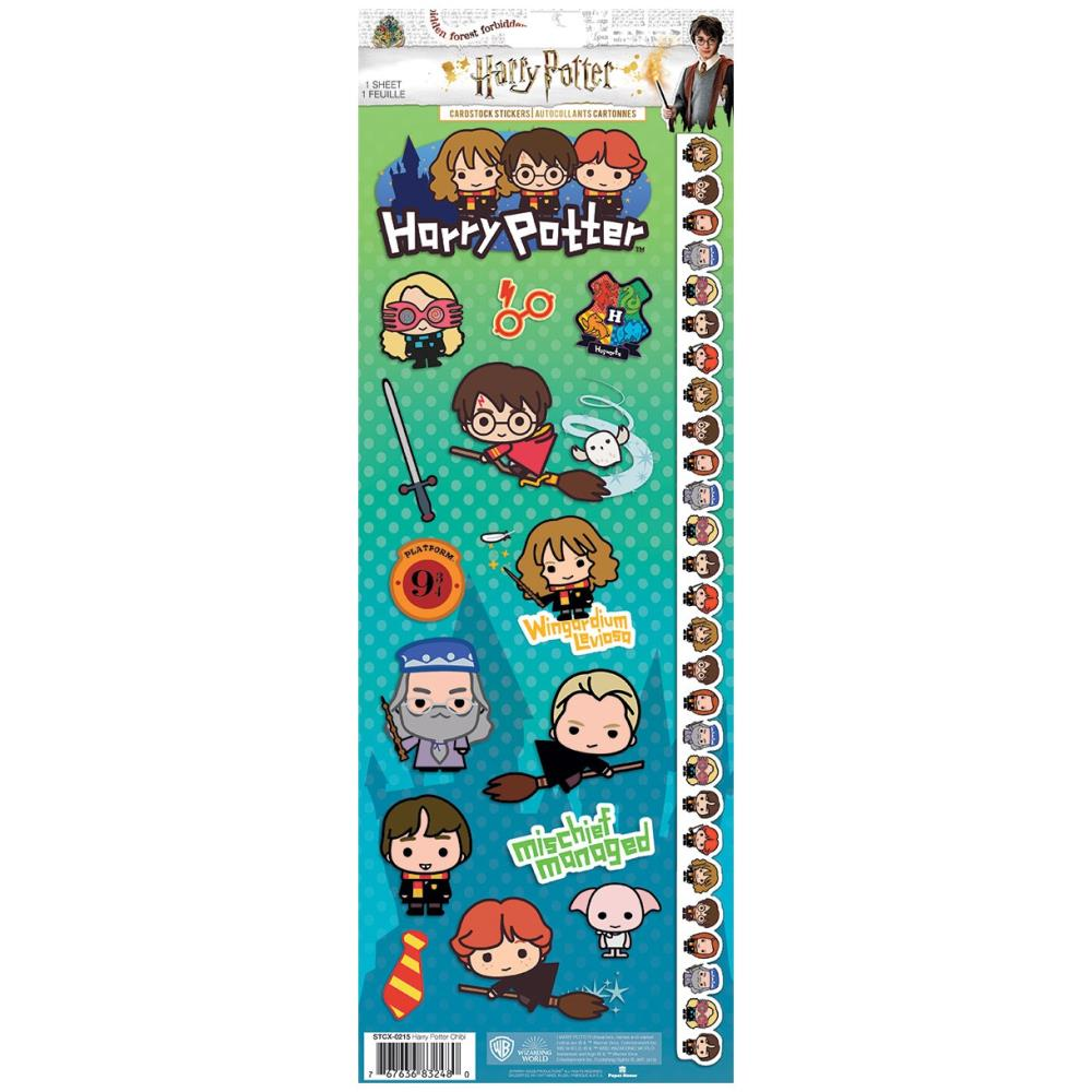Paper House Harry Potter cardstock character stickers