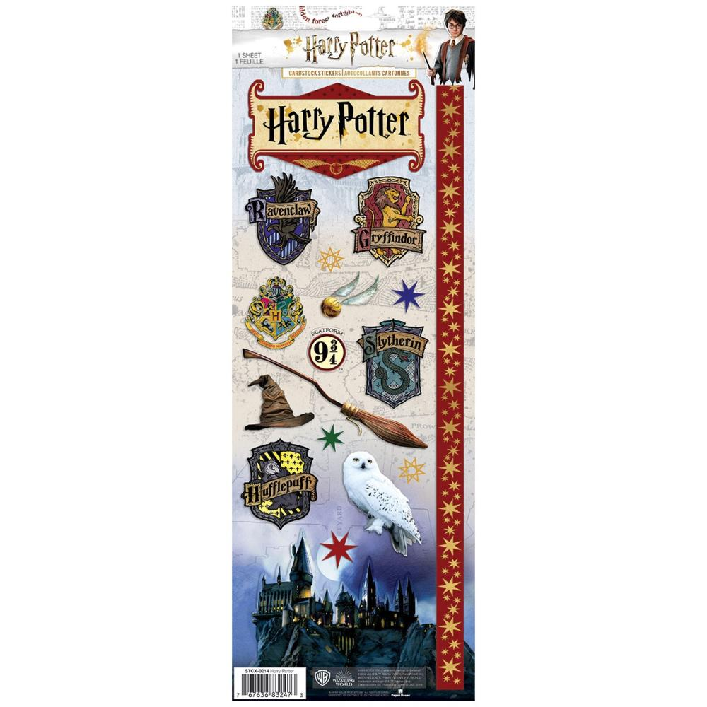 Paper House Harry Potter cardstock stickers