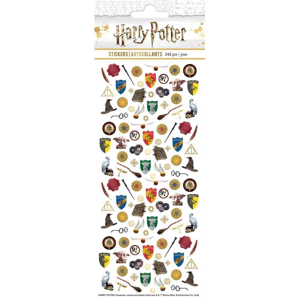 Paper House Harry Potter faux enamel micro stickers