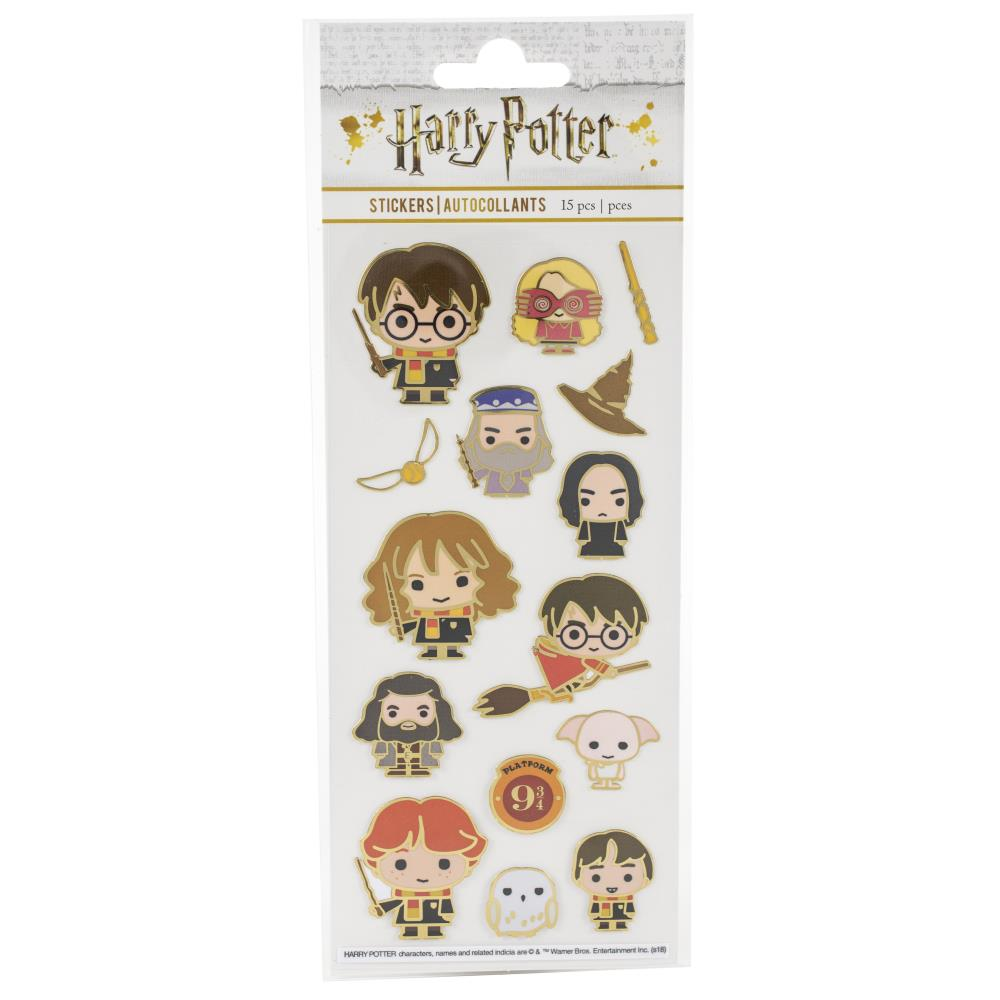 Paper House Harry Potter faux enamel character stickers