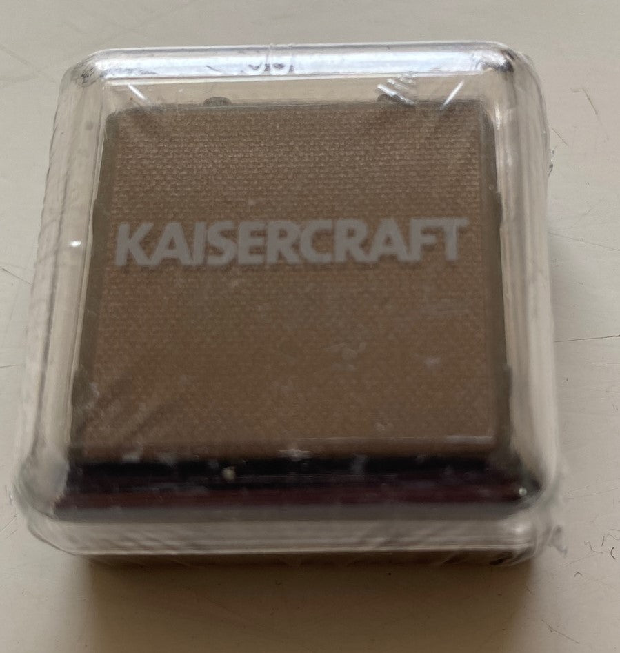 Kaisercraft brown ink pad cube
