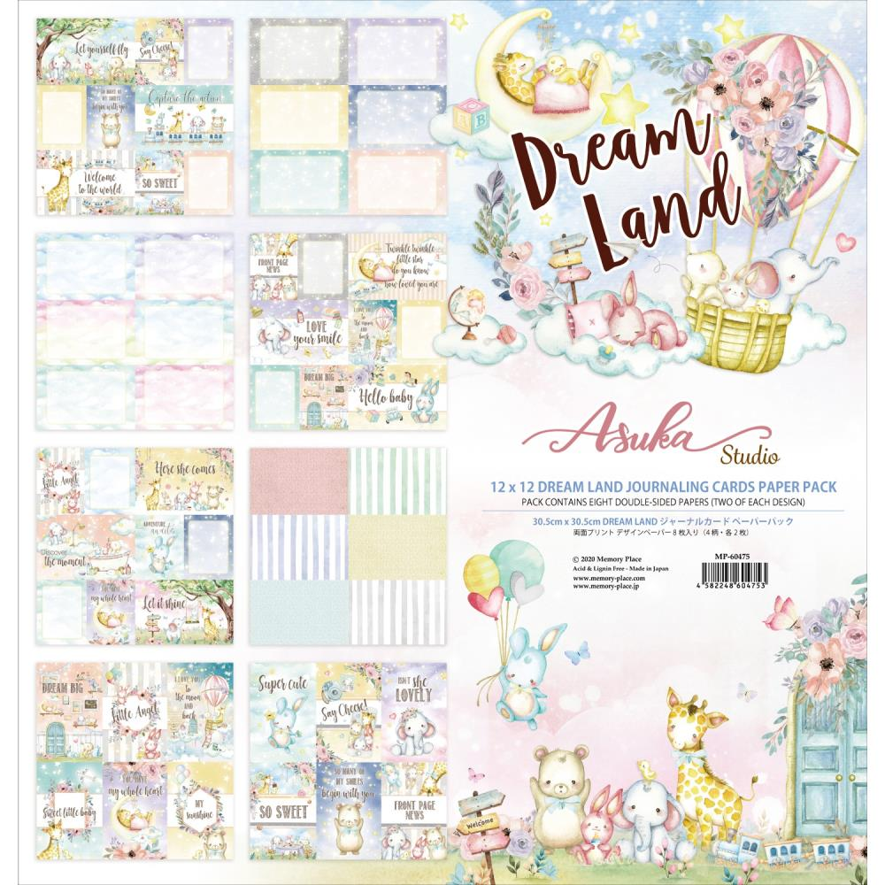 Asuka Studio Dreamland journaling cards (8x ds sheets)