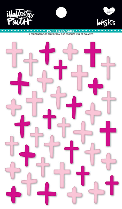 Bella Blvd 'bless her heart' puffy crosses