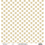 Bella 'Glitzy gold paper' arrows single sided pp
