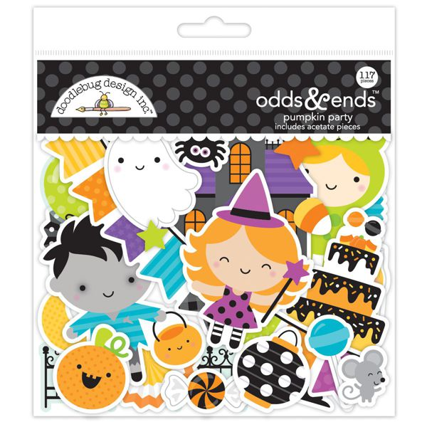 Doodlebug Pumpkin party diecuts