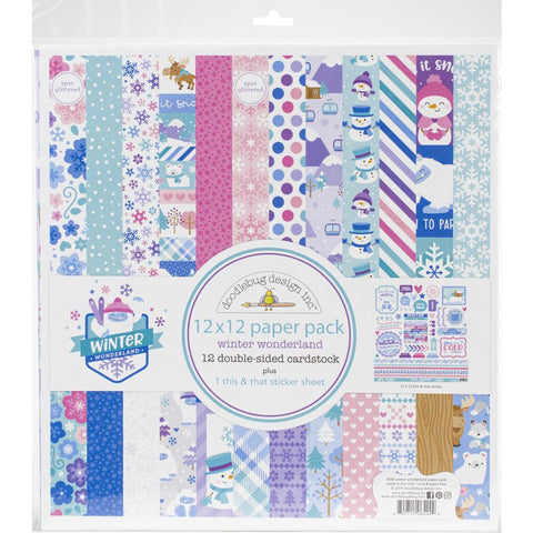 Doodlebug 'Winter Wonderland' Collection pack