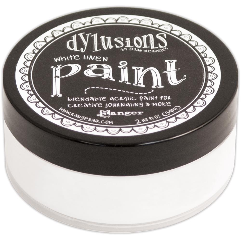 Dylusions 'white linen' paint