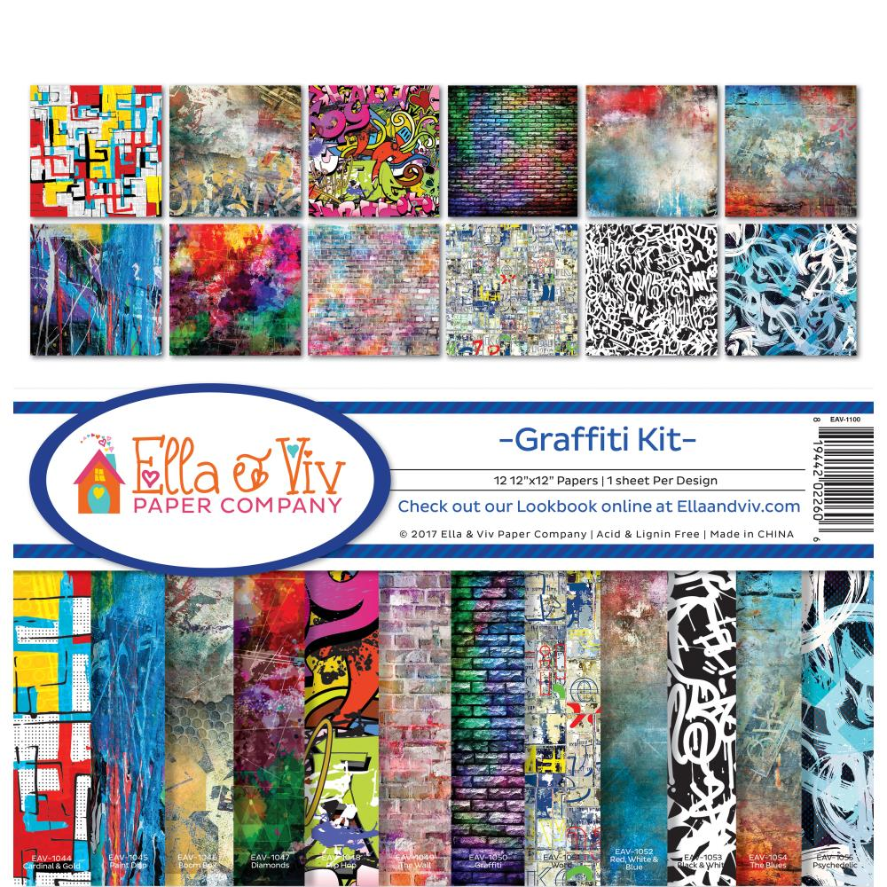 Ella & Viv 'Graffiti' collection pack