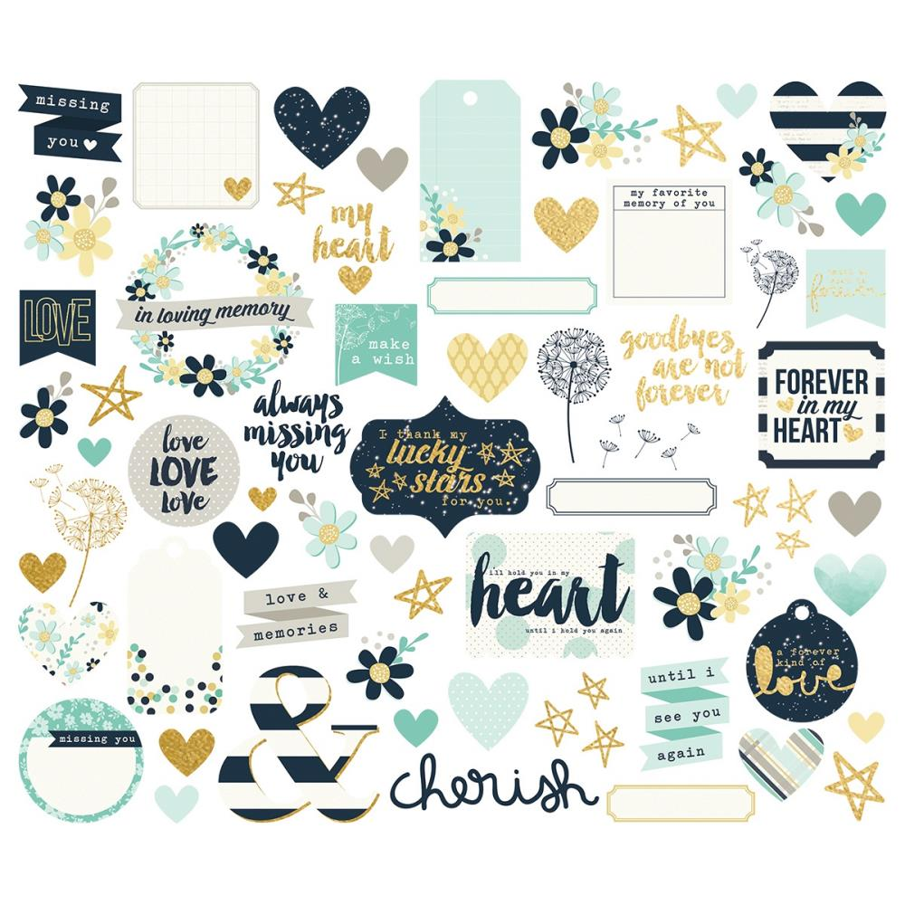 Simple Stories 'Heart' diecuts