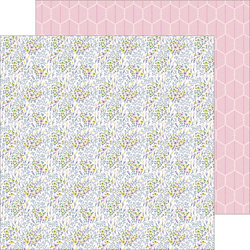 PFS 'Joyful day' being us ds patterned paper