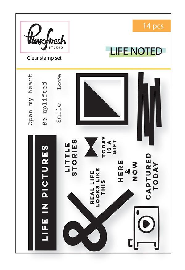 PFS 'Life noted' stamp set
