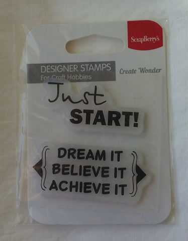 ScrapBerry's create wonder stamp