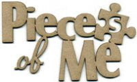 Scrapfx 'pieces of me' chipboard wordlet
