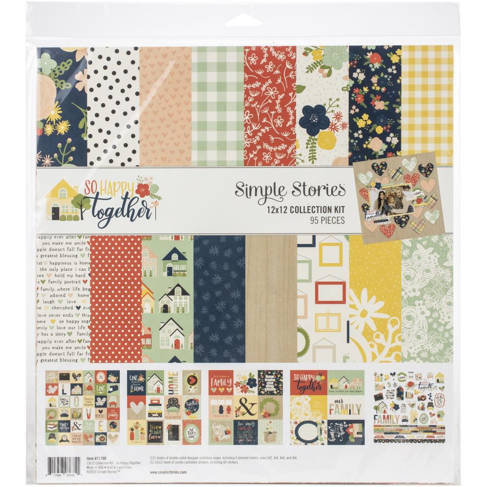Simple Stories 'So happy together' collection pack