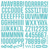 Simple Stories 'Color Vibe' foam alphabet stickers